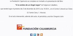 INVITACIÓN CAJAMURCIA