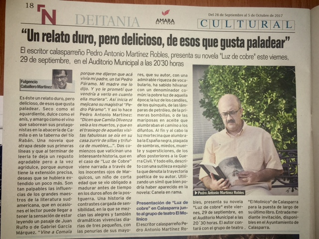 FULGENCIO CABALLERO - ARTICULO NOROESTE